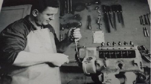 POČECI RADA OBRTA PUMPA SERVIS -1948 GOD.